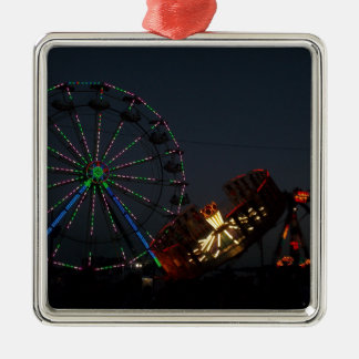 County Fair at Night Christmas Ornament