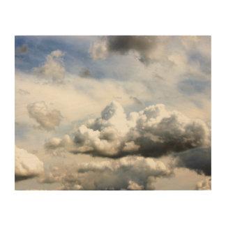 County Fair Clouds Wood Wall Art