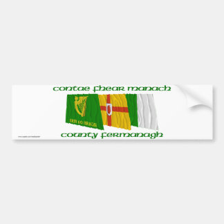 County Fermanagh Flags Bumper Stickers
