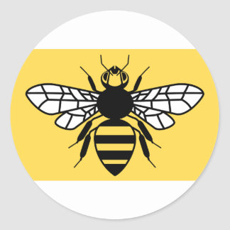County Flag of Greater Manchester Classic Round Sticker