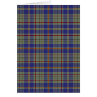 County Kildare Irish Tartan Card