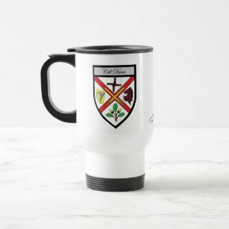 County Kildare Map Crest Mugs
