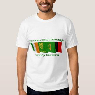 County Kilkenny Flags Tshirts