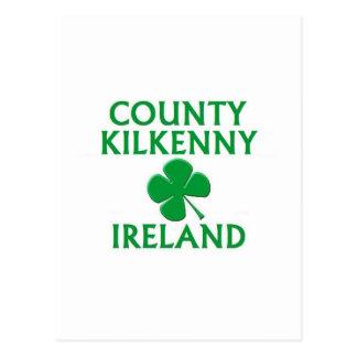 County Kilkenny Ireland Postcard