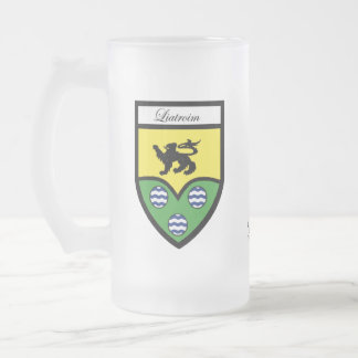 County Leitrim Map & Crest Mugs