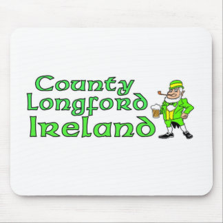 County Longford Ireland Mouse Pad