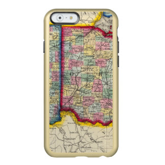 County Map Of Ohio, And Indiana Incipio Feather® Shine iPhone 6 Case
