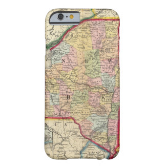 County Map Of The States Of New York Barely There iPhone 6 Case