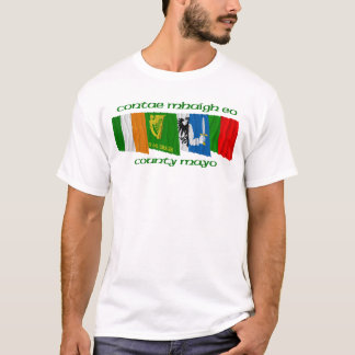 County Mayo Flags T-Shirt