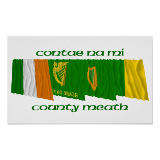 County Meath Flags Posters