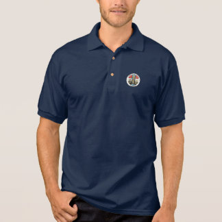 County of Los Angeles seal Polo Shirt