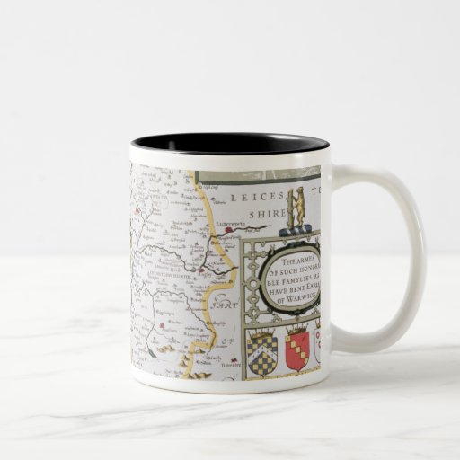 County of Warwick, Shire Town and City of Coffee Mug