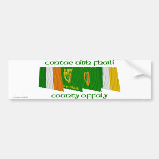 County Offaly Flags Bumper Sticker