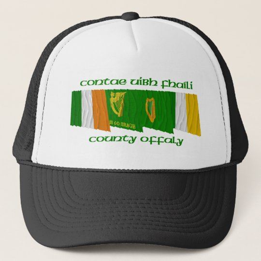 County Offaly Flags Trucker Hat