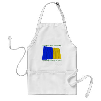 County Roscommon Colours Adult Apron