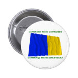 County Roscommon Colours Buttons