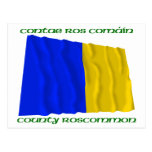 County Roscommon Colours Postcard