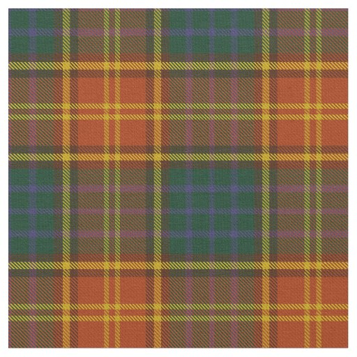 County Roscommon Irish Tartan Fabric