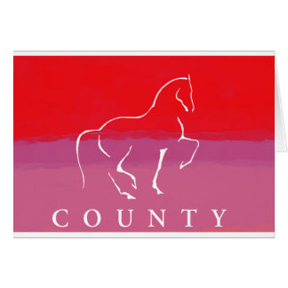 COUNTY SADDLERY DRESSAGE CARD