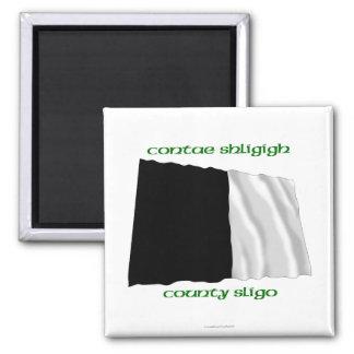 County Sligo Colours Square Magnet