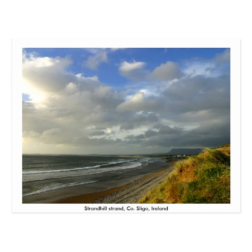 County Sligo Ireland - Strandhill beach Postcard