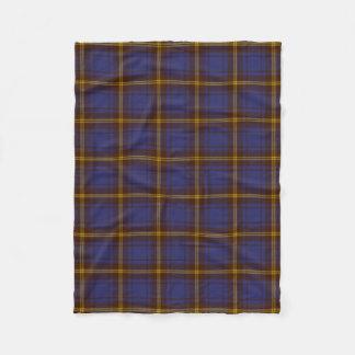 County Sligo Irish Tartan Fleece Blanket