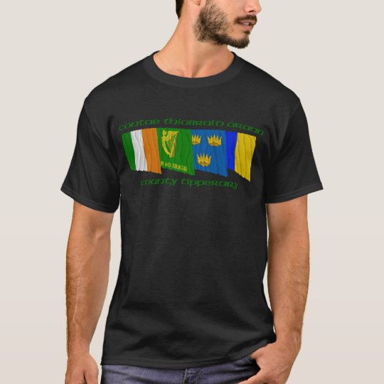 County Tipperary Flags T-Shirt