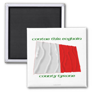 County Tyrone Colours Magnet