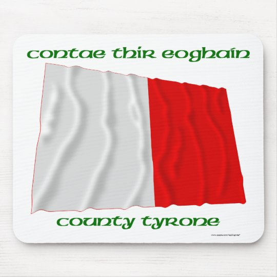 County Tyrone Colours Mouse Mat