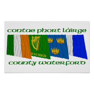 County Waterford Flags Posters