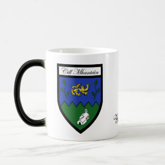 County Wicklow Map Crest Mugs