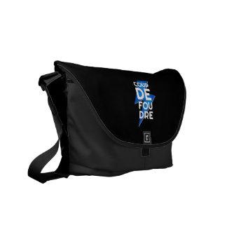 Coup de Foudre - French Expression Lightning Bolt Commuter Bag