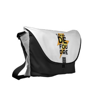 Coup de Foudre - Lightning Strike French Courier Bags
