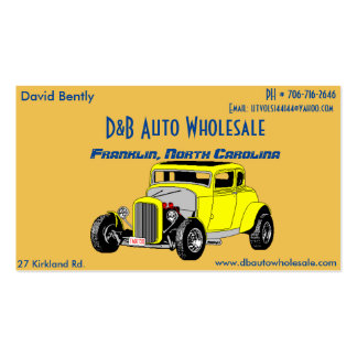Coupe David Card Pack Of Standard Business Cards