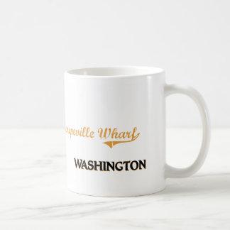 Coupeville Wharf Washington Classic Coffee Mug