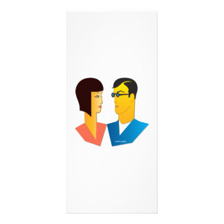 Couple 1 personalized rack card