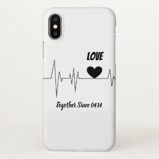Couple Anniversary IPhone X Case
