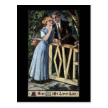 Couple at the Love Gate Post Cards