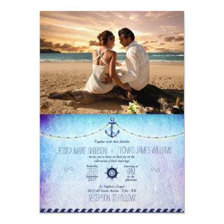 Couple Beach Love Relationships 13 Cm X 18 Cm Invitation Card