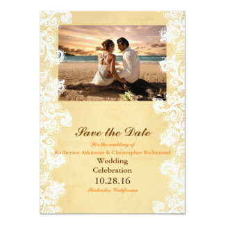 Couple Beach Love Relationships 13 Cm X 18 Cm Invitation Card