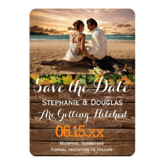 Couple Beach Love Relationships/Save The Date 13 Cm X 18 Cm Invitation Card