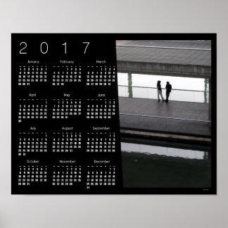COUPLE City of Sciences Paris Calendar Poster 2017