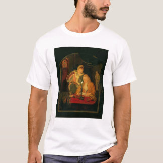Couple counting money by candlelight, 1779 T-Shirt