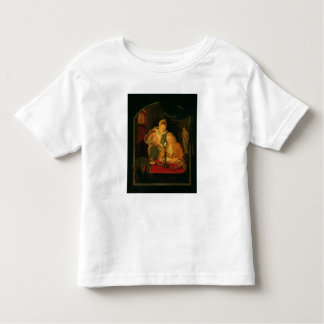 Couple counting money by candlelight, 1779 toddler T-Shirt
