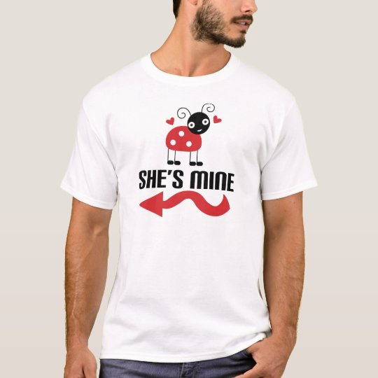 Couple Cute Ladybug His T-Shirt