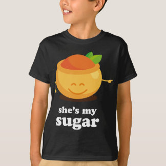 Couple Cute Sugar and Spice His T-Shirt
