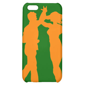 Couple Dance Spin Silhouette Personalized Cover Cover For iPhone 5C
