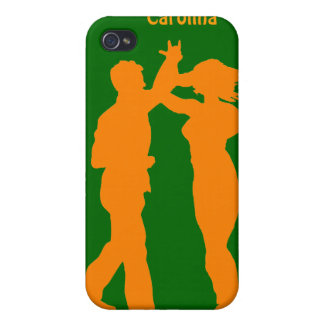 Couple Dance Spin Silhouette Personalized Cover iPhone 4/4S Cases