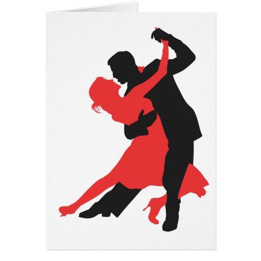 couple dancing card