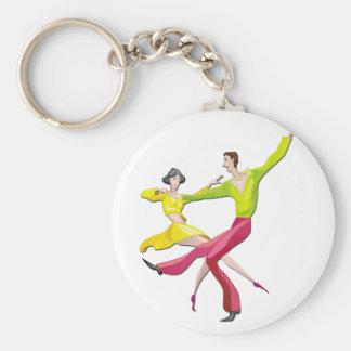 Couple Dancing Key Chain